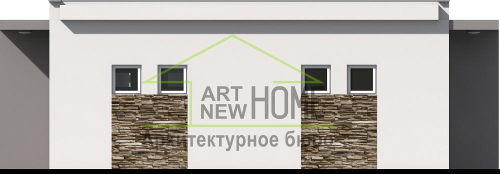 Проект гараж Мысхако фото 4