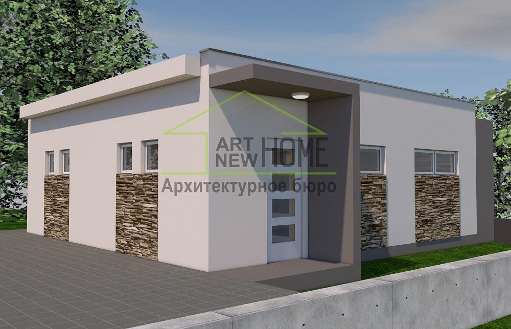 Проект гараж Мысхако фото 2