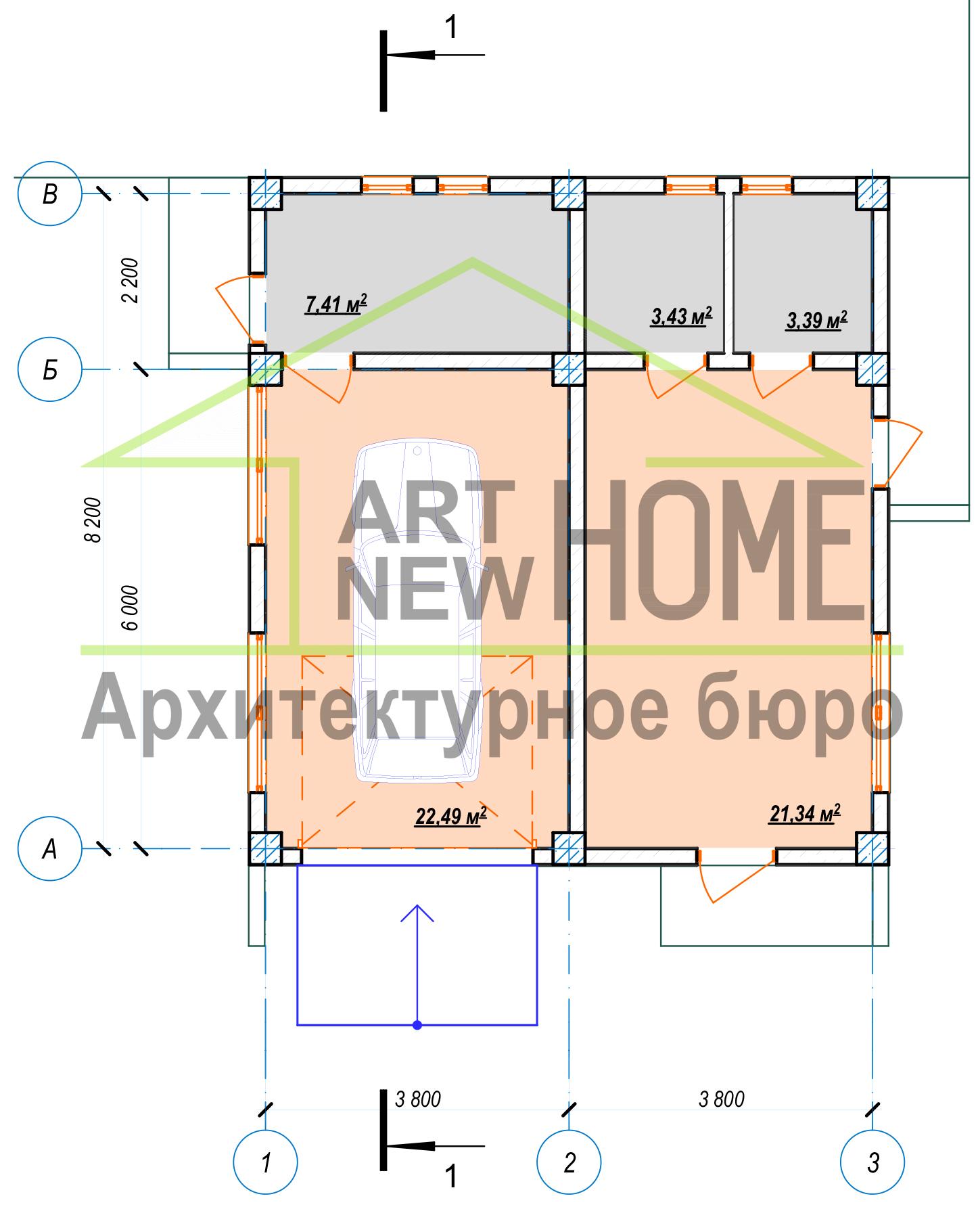 Строительство нового дома на месте старого Штрафы