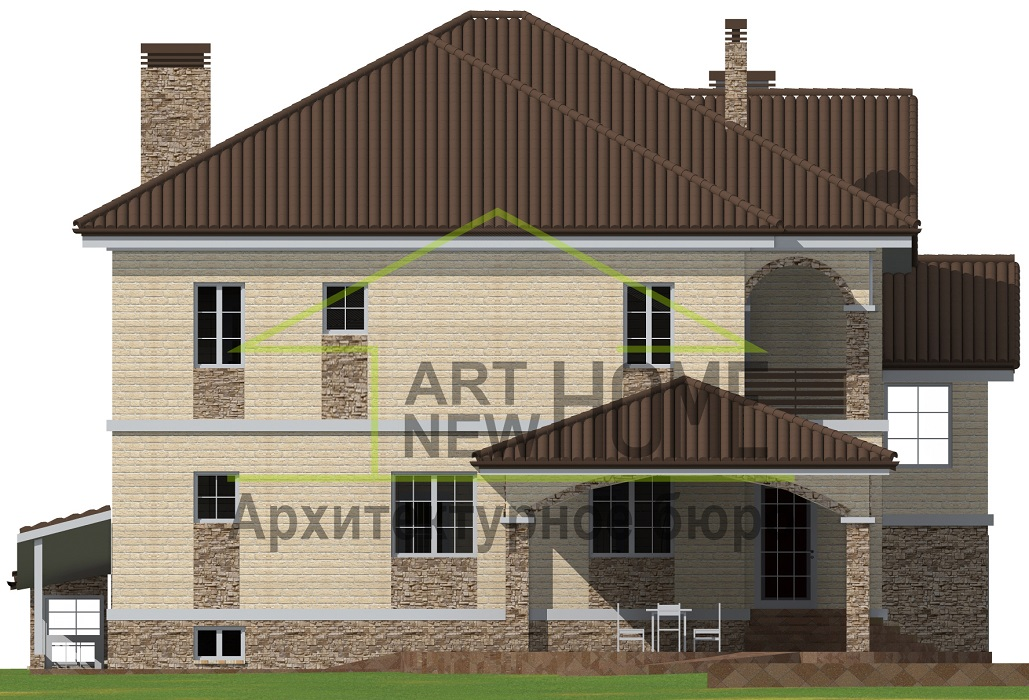 Фасад Баковка фото 2