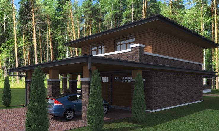 Проект Ногинск-гараж фото 2