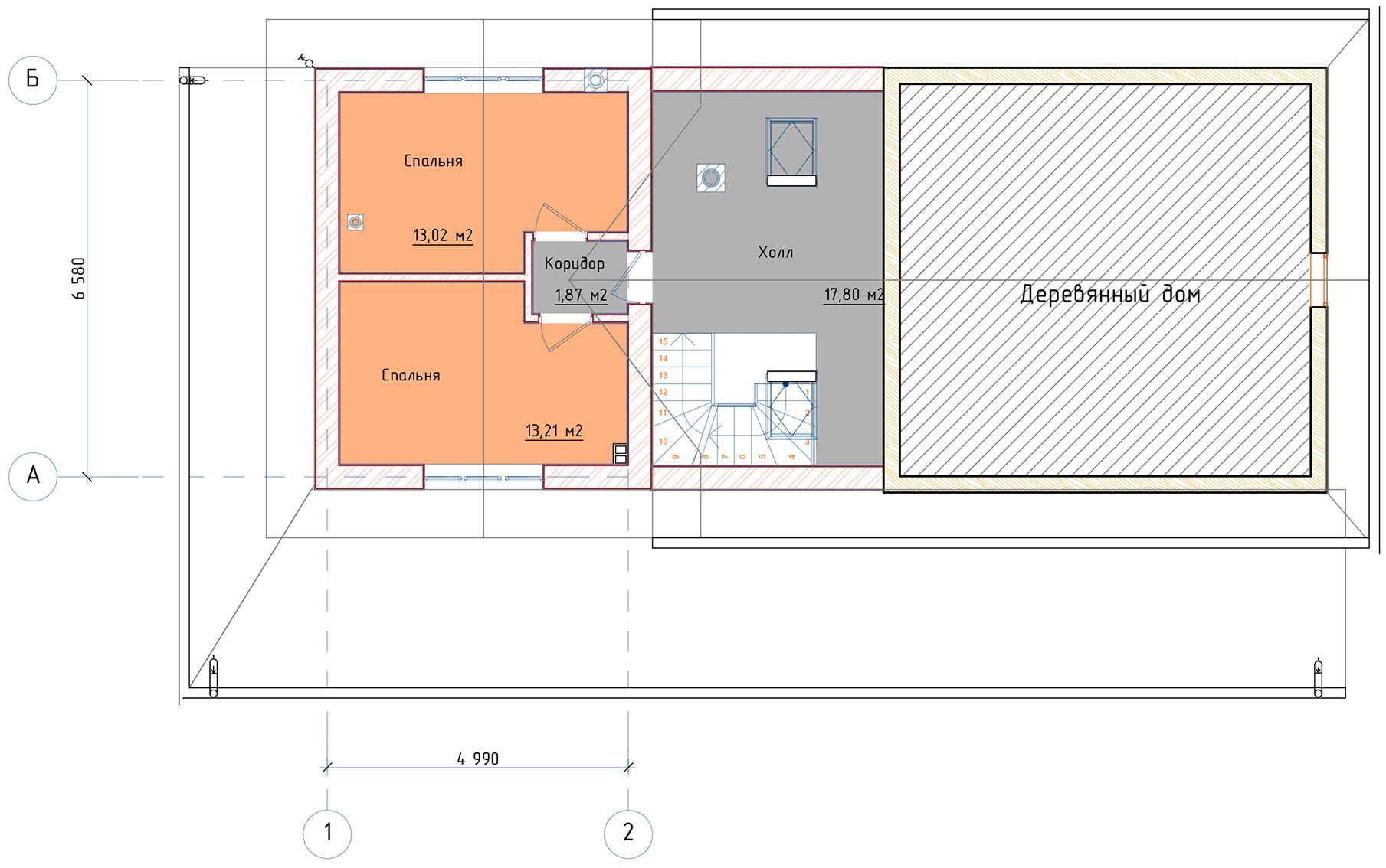 План 2 этажа с.Осташево