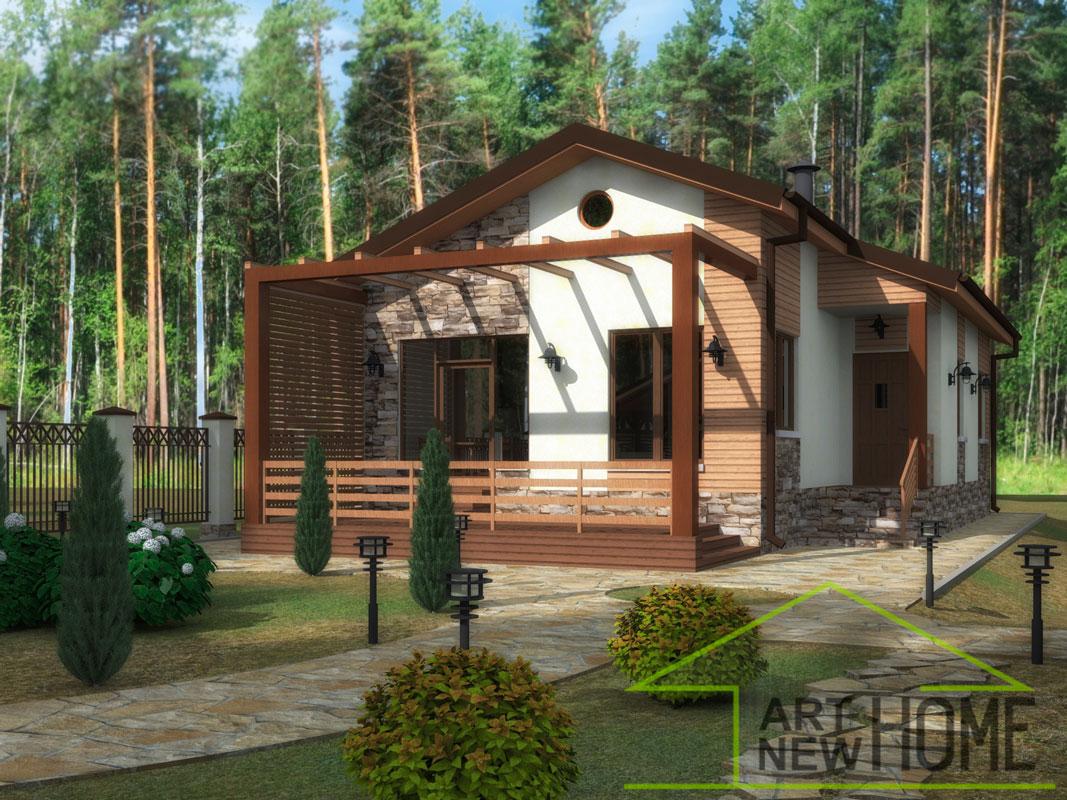 Жилой дом Поварово Визуализация жилого дома вид 1