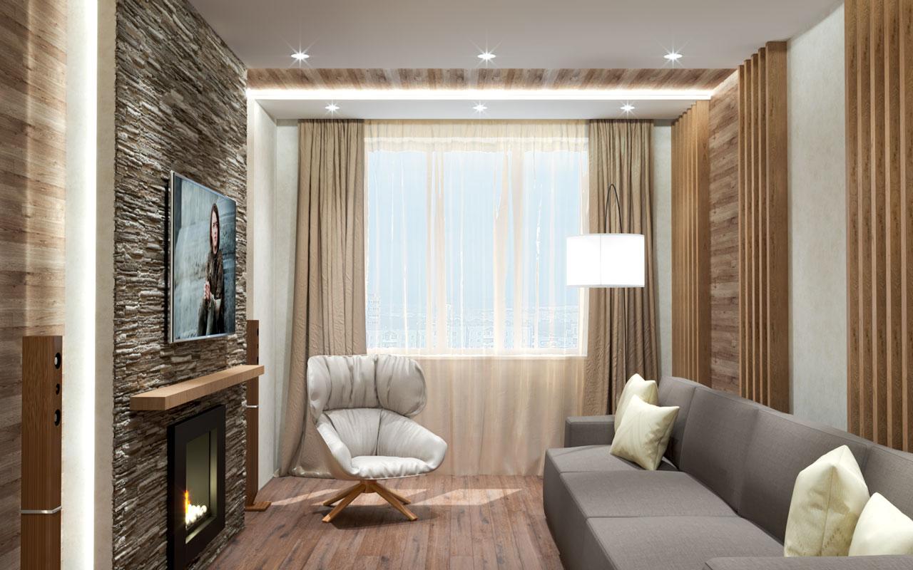 Дизайн проект квартиры Раменское фото 4
