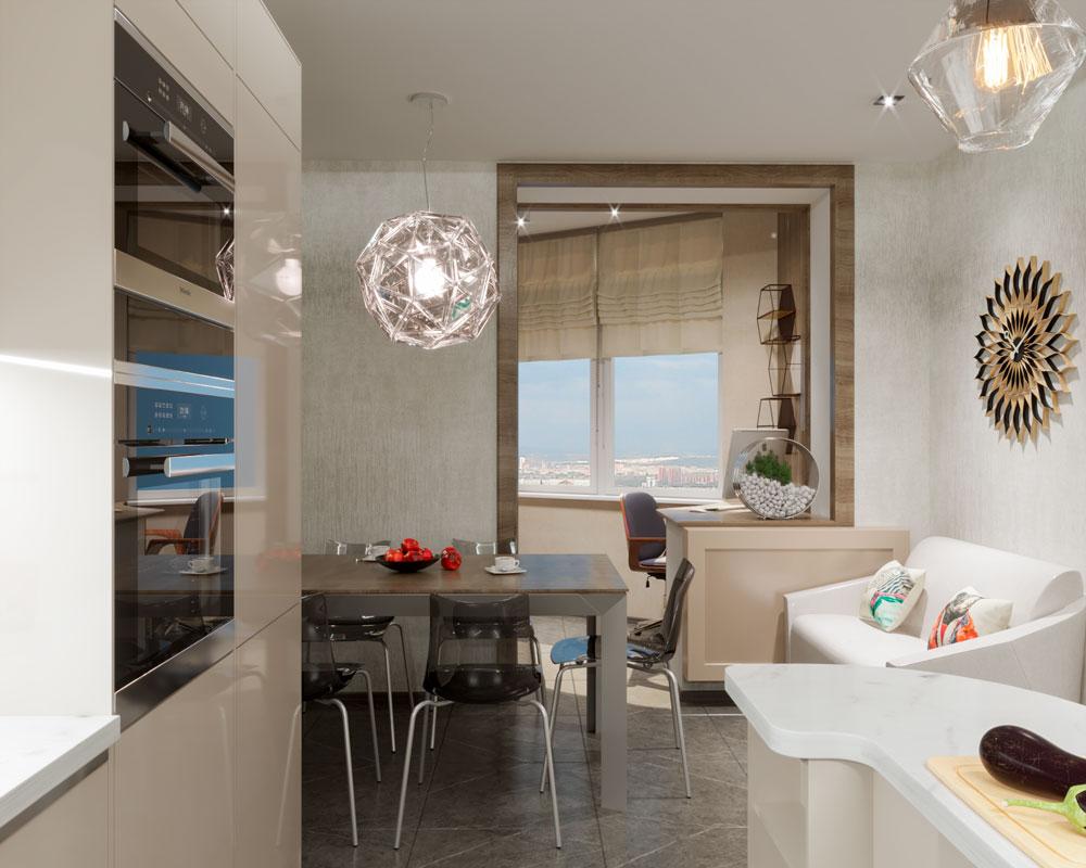 Дизайн проект квартиры Раменское фото 6