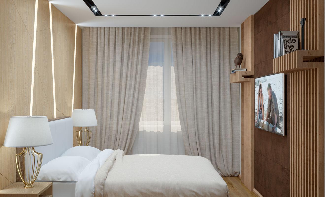 Дизайн проект квартиры Раменское фото 1