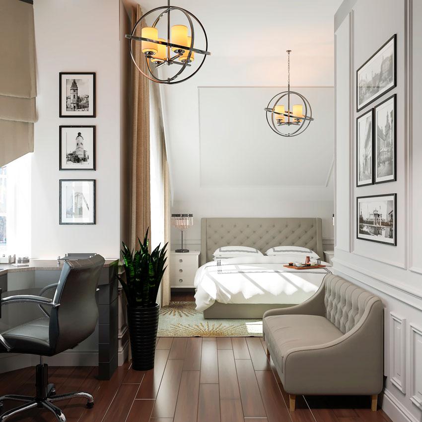 Дизайн Соврасово Дизайн спальни вид 2