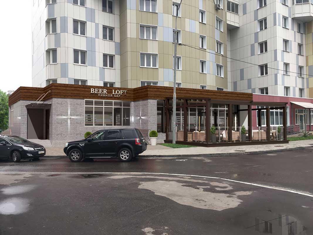 Проект Летнее кафе Мневники фото 2