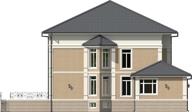 Фасад п. Дачный фото 4