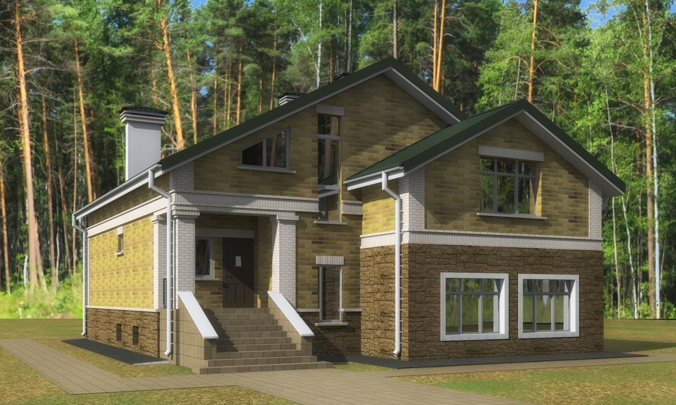 Жилой дом в Ивановке