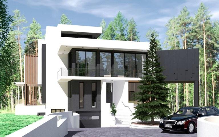 Индивидуальный жилой дом по адресу: МО, Солнечногорский район,в районе д. Миронцево