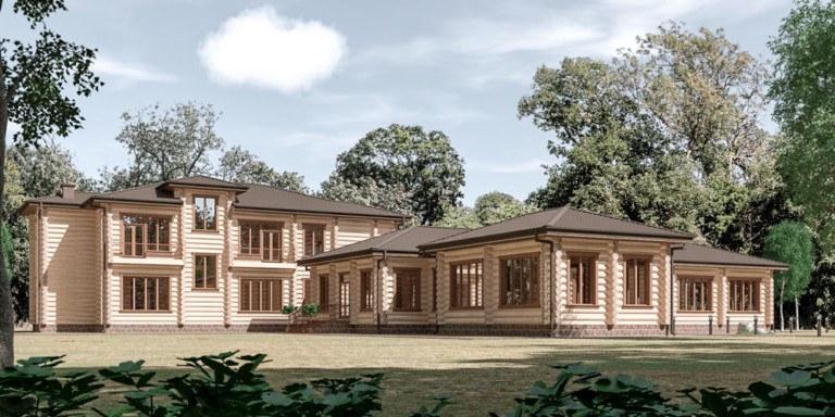 Жилой дом по адресу: МО, Шаховской район, близ деревни Панюково, ДНП Тихие поляны